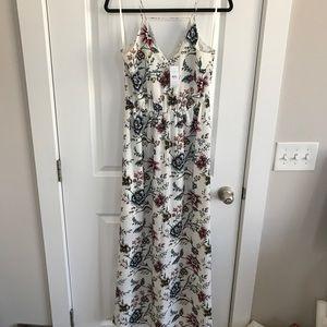 NEW!! LOFT Floral Maxi Dress